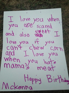 Six-year-olds make the best birthday cards | by passiveaggressivenotes