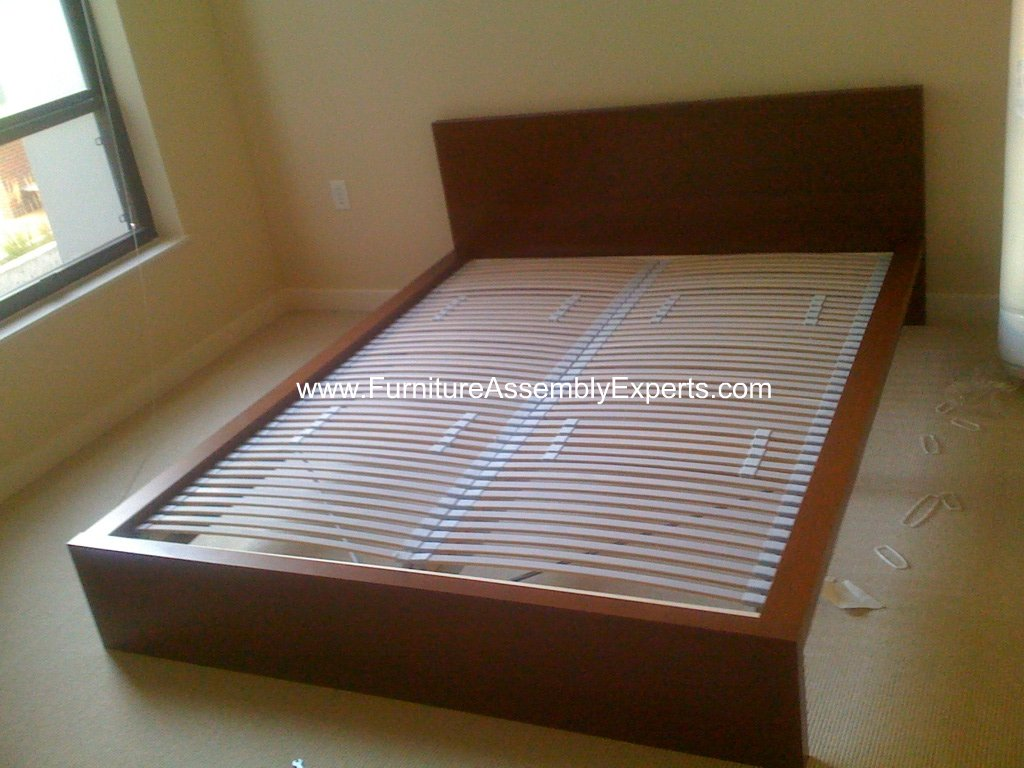ikea malm bed frames assembly service in vienna va flickr