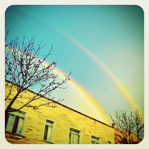 Good Morning Vietnam Z Rainbow : Good morning double rainbow elka flickr