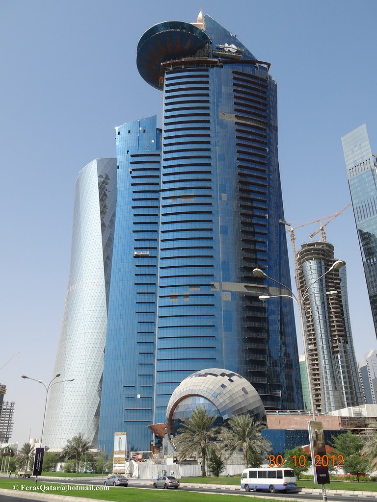 World Trade Centre Tower Wtc Doha Qatar Location
