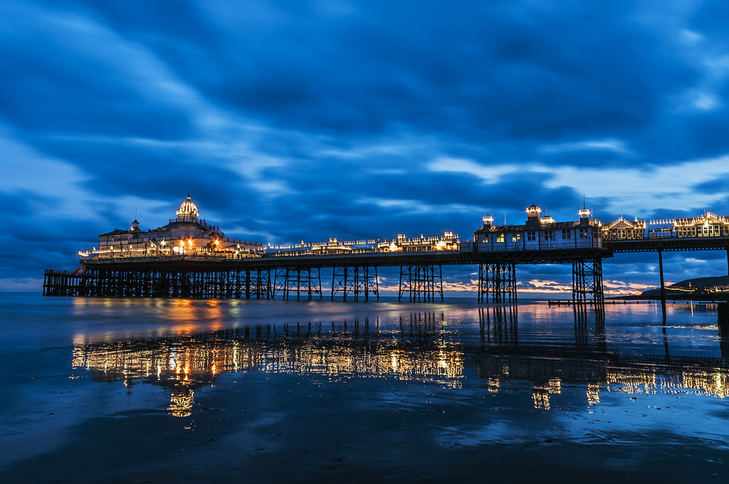 Eastbourne Pier At Night After Dropping My Youngest To A