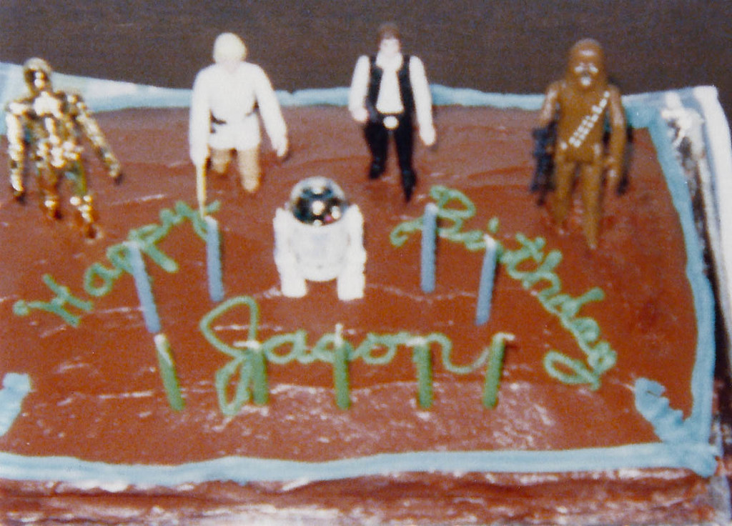 Best Birthday Cake Ever Lousy Picture Awesome Star Wars Flickr