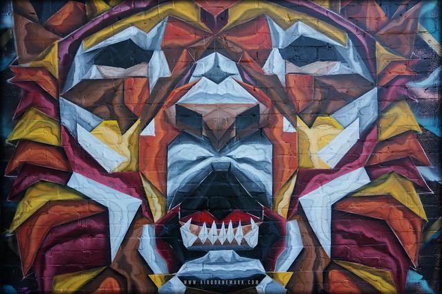 A S L A N. New mural in Penge