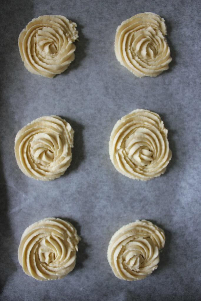 Rose Viennese Swirls
