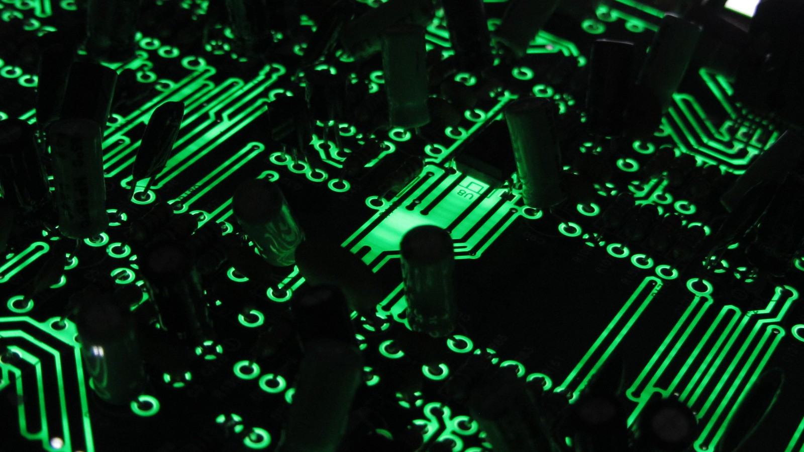 Circuit Board One Of The Boards A Creative Mega Flickr