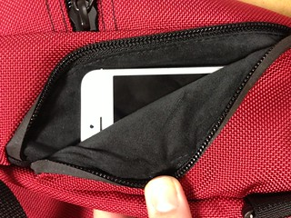 iPhone 5 in the Imago phone pocket | by TOM BIHN