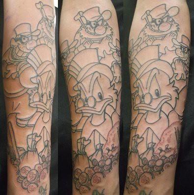 Tio Patinha E Irmaos Metralha Seven Tattoo Seven Tattoo Flickr