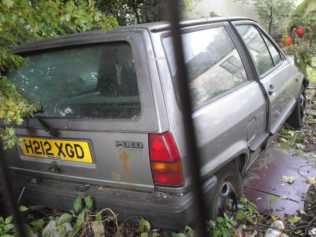 1990-91 Volkswagen Polo Country | No trace of H212XGD | Alan Gold ...
