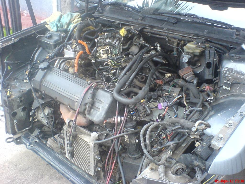 Motor V6 Prv Peugeot 605 Sv3 0 Wilson Gallardo Flickr