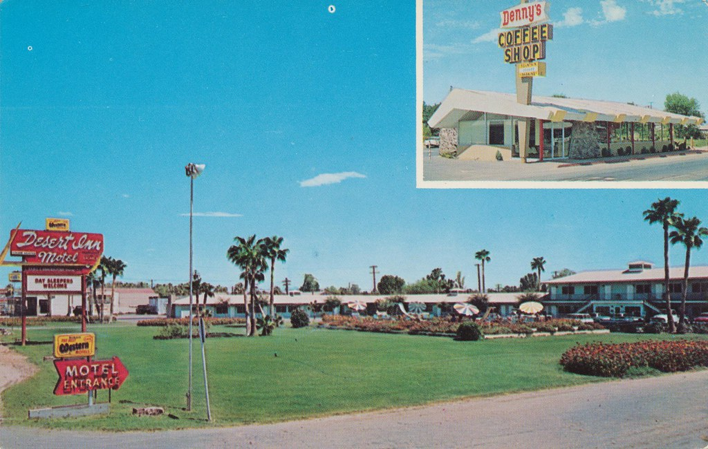Desert Inn Motel and Denny's Coffee Shop - Blythe, California