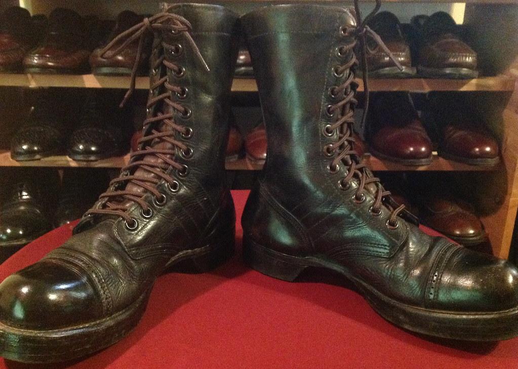 Ww2 Combat Boots Paratrooper Combat Boots