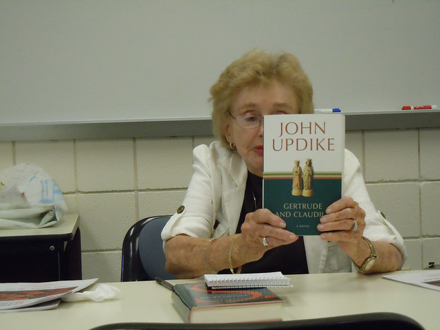 claudius and gertrude by john updike essay Other articles where gertrude and claudius is discussed: john updike:popular obsession with cinema, while gertrude and claudius (2000) offers conjectures on the early relationship between hamlet's mother and her brother-in-law.