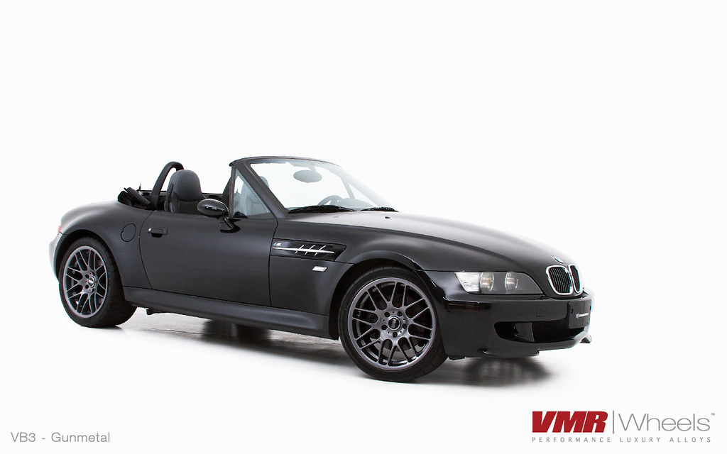 Vmr Wheels 18 Quot Hyper Black Vb3 On Jet Black Bmw Z3 M Cou