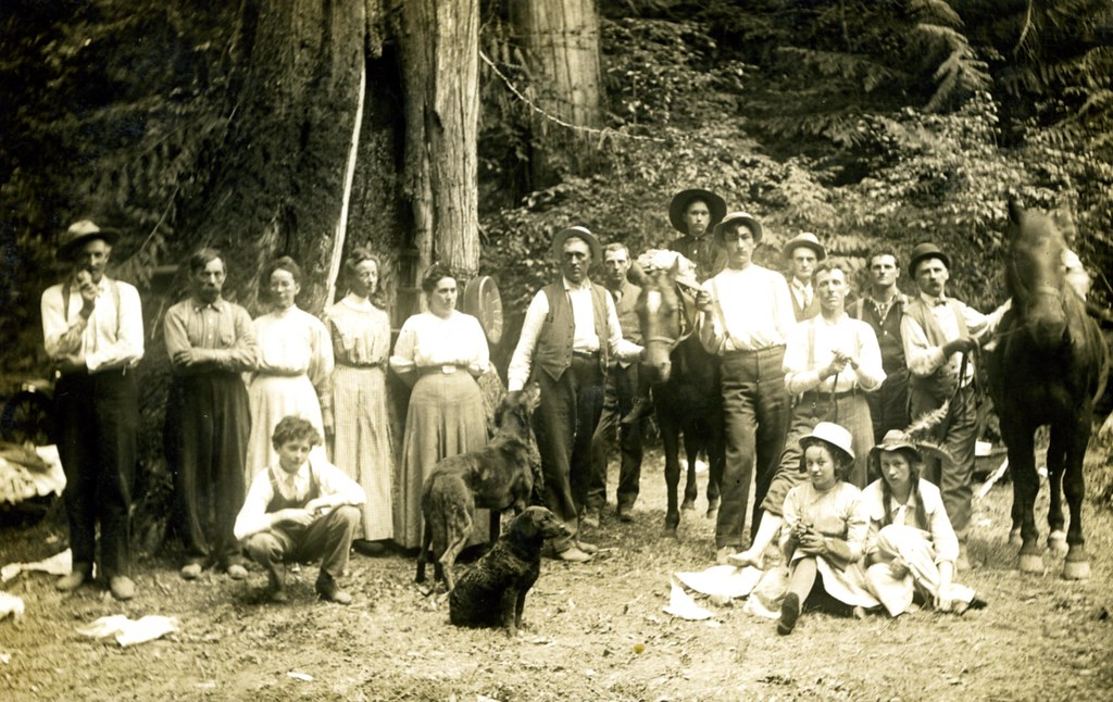 group photo at soda spings gale creek oregon original co flickr