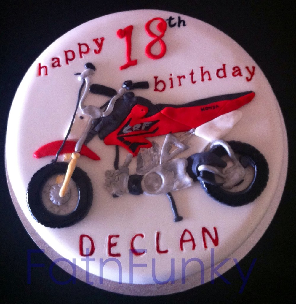 Cake Art Motorcycle Cake Pan : Dirt bike cake Fatnfunky cakes & art Flickr