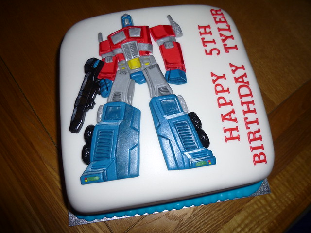 Optimus Prime Cake Topper Australia