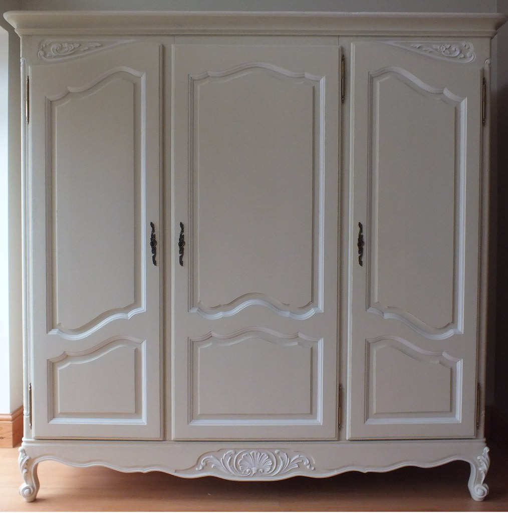 ... French Vintage Provencal 3 Door Armoire | By Www.visitdap.com
