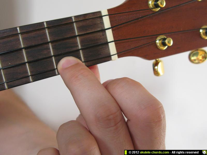 Cmaj7 Ukulele Chord How To Play A Cmaj7 On The Soprano Fo Flickr