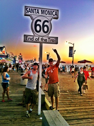 We Made It! End Of The Trail Route 66 - Santa Monica Pier - California | by Brian DeFrees