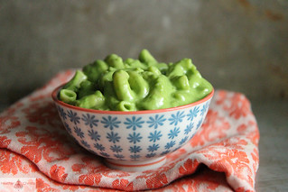 Green Macaroni and Cheese | by Heather Christo