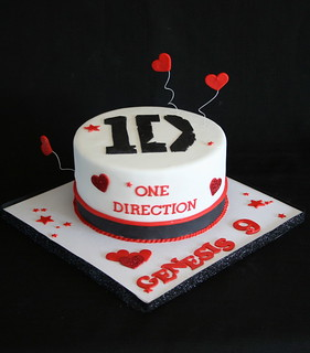One Direction Cake Designs
