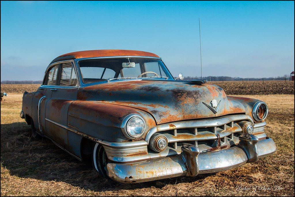 Old Rusty | Finally visited the old rusty Cadillac west of R… | Flickr