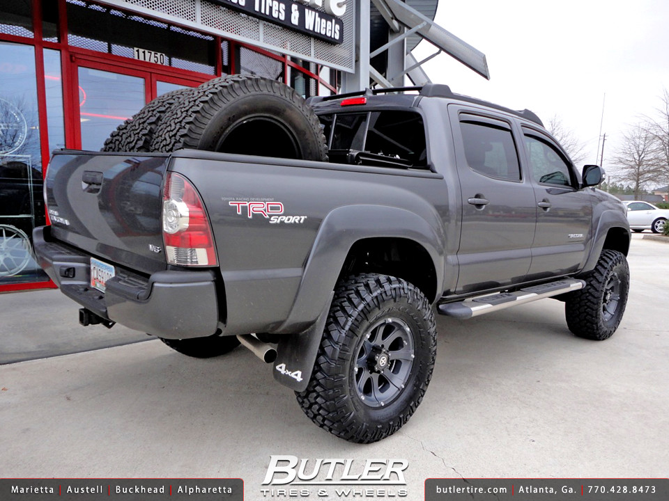 Toyota Tacoma with 17in ATX Ledge Wheels | Additional Pictur ...