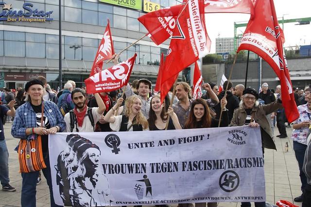 Betoging tegen fascistisch geweld in Dortmund // SAV