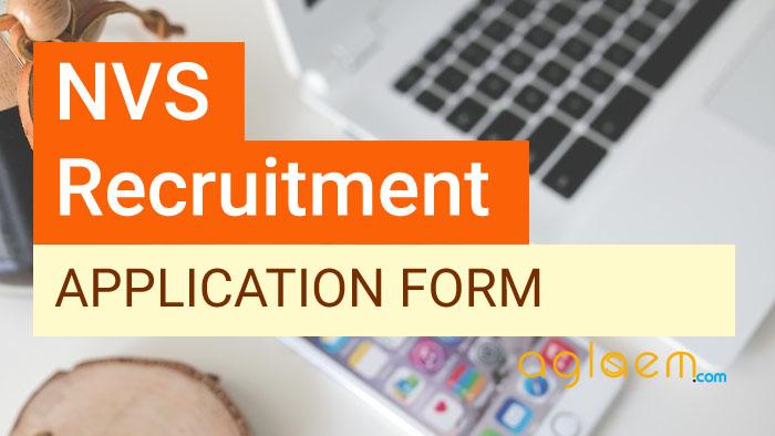 NVS Application Form 2017 18 – Apply Online