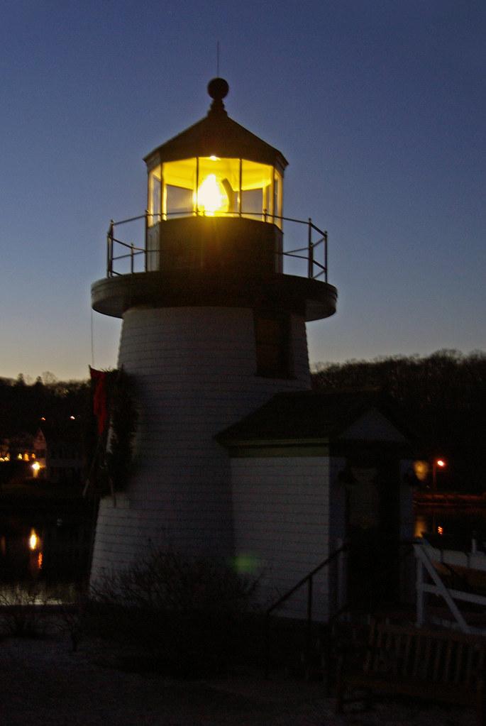 Delightful ... Mystic Seaport Light, Mystic CT, USA | By Foroyar22 Amazing Design