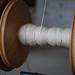 spinning hemp roving