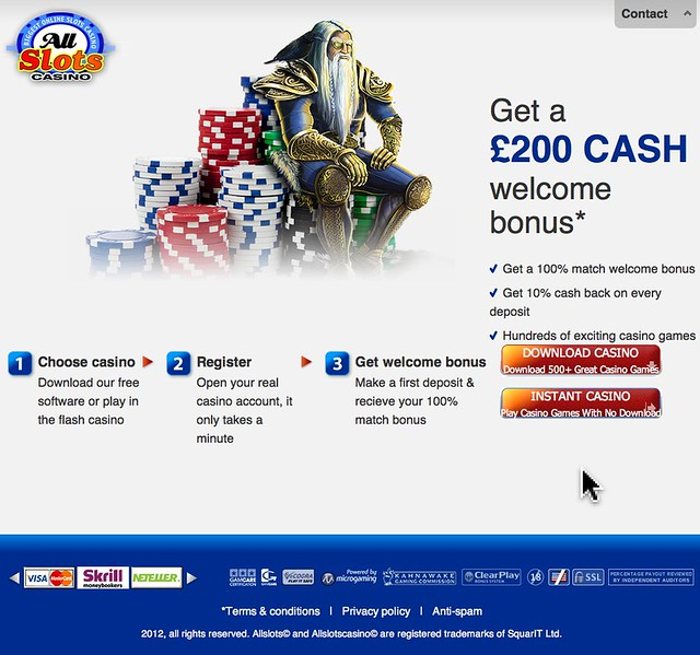 all slots casino flash player