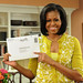 Michelle Obama votes by mail—October 15th