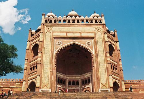 Puerta de la victoria fatehpur sikri agra india flickr for Puerta la victoria