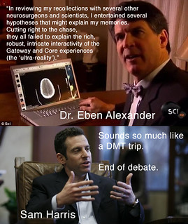 Dr. Eben Alexander vs. Sam Harris | by ~C4Chaos