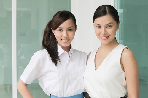 The two leads of DOUBLE, Carmen Soo and Candy Lee | by edmundyeo