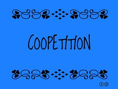 Buzzword Bingo: Coopetition is a portmanteau of cooperation and competition coined to describe cooperative competition.