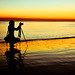 Silhouetted Photographers