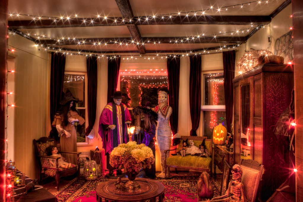 halloween living room by kilkennycat halloween living room by kilkennycat