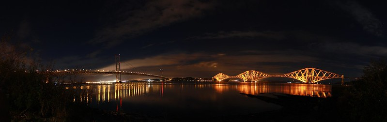 Photo of the forth bridges.