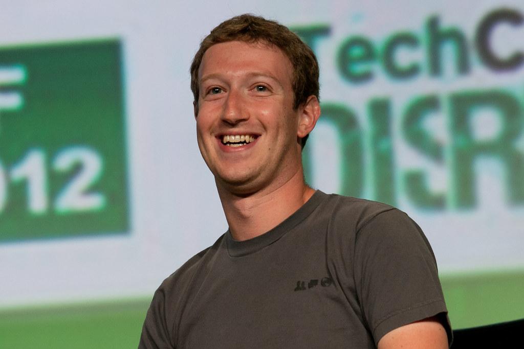 Mark Zuckerberg Facebook Ceo Mark Zuckerberg At