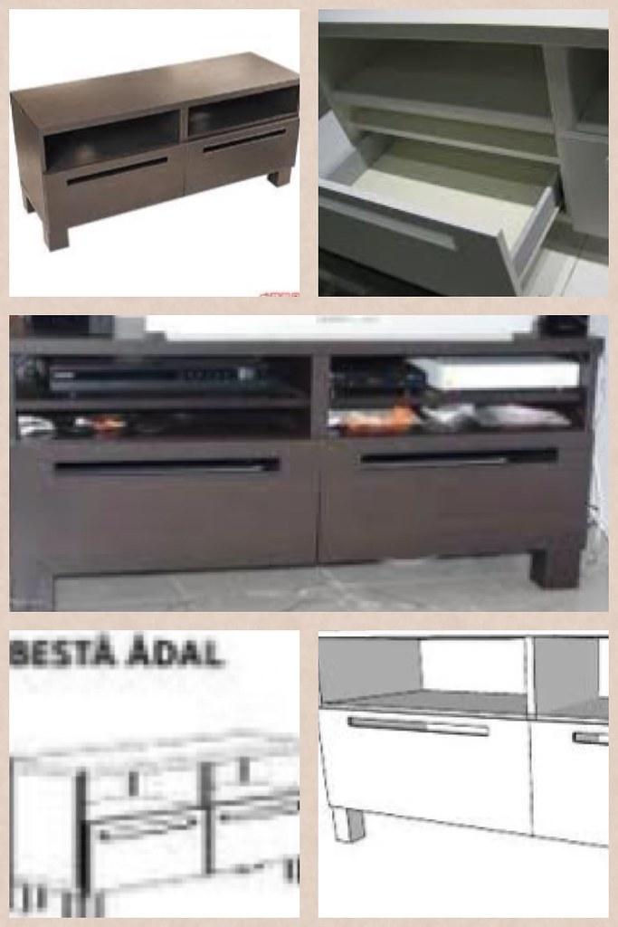 tv stand 20eur ikea besta adal meuble tv ikea besta. Black Bedroom Furniture Sets. Home Design Ideas