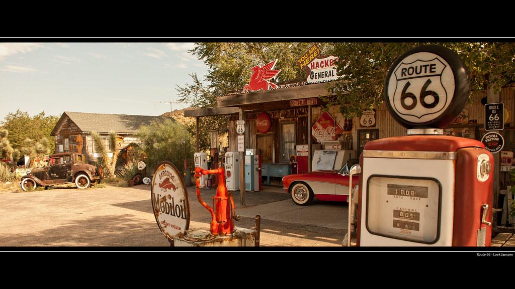 Route 66 Gas Station Wallpaper Desktop Background 2560 X Flickr