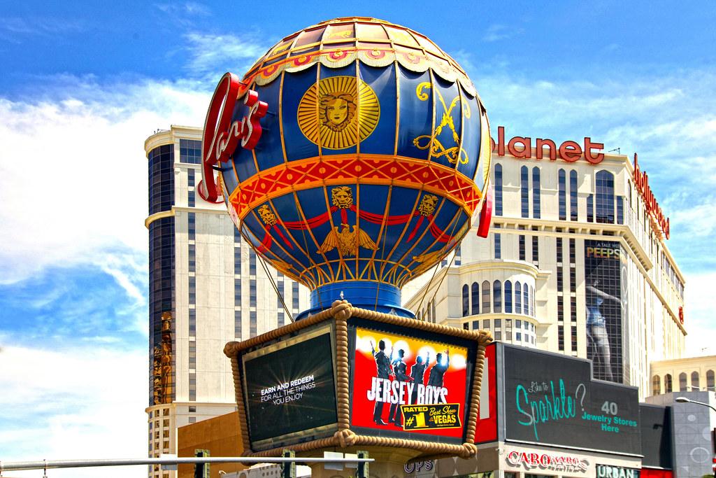 Paris - Las Vegas NV. Hot air balloon called \'Aerostat Rev… | Flickr