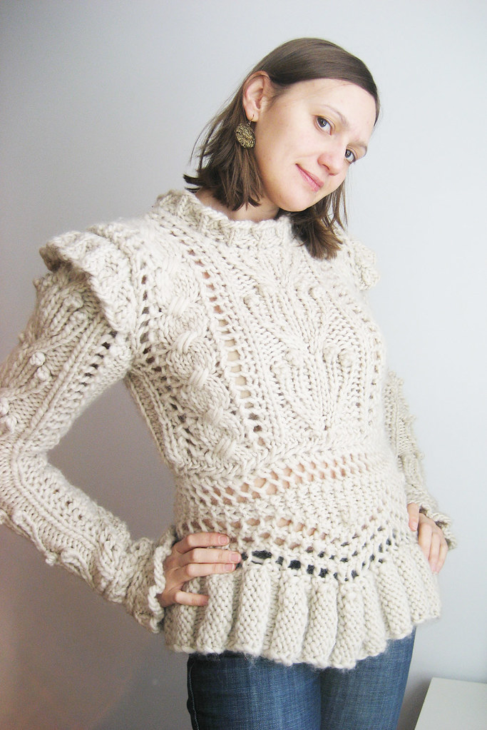 Knitting Vogue Free : My knitted armor pattern by james coviello vogue knittin