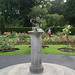 TODAY I VISITED THE BOTANIC GARDENS IN DUBLIN [SUNDIAL IN THE ROSE GARDEN]-120042