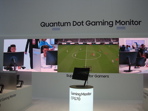 IFA Quantum Dot Gaming Monitor
