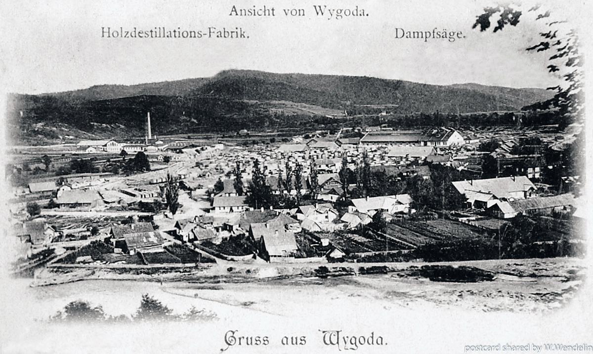 Карпатский трамвай во времена Австро-Венгрии