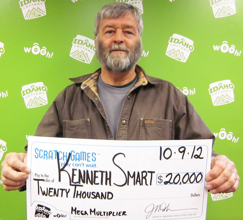 Kenneth Smart - $20,000 Mega Multiplier | by Idaho Lottery