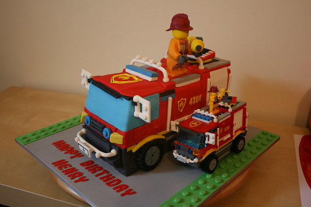 Lego City Cake Ideas